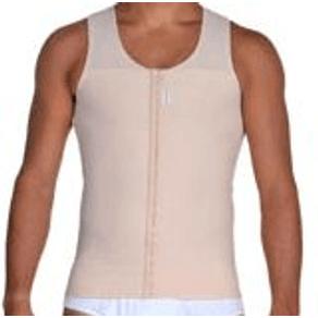 Camiseta-Masculina-com-Fecho-Frontal-Chocolate---Nova-Forma---14017--1-