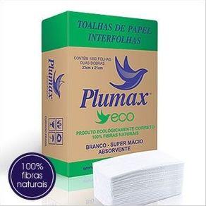 Toalhas-de-Papel-Interfolhas-Plumax-Eco---1000-folhas