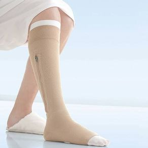 Kit-Meia-de-Compressao-Panturrilha---40mmHg---Bege---Ziper-Esquerdo---Jobst-Ulcer-Care--2-