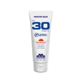 Protetor-Solar-Ultra-FPS-30-com-Acao-Repelente---120g---Mavaro--1-